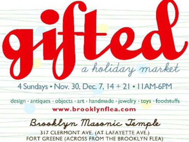 Holiday To-Do List: Brooklyn Flea's Gifted Market