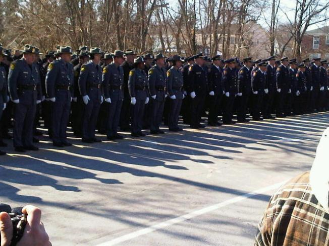 Thousands Gather for Funeral of L.I. Cop Killed by Truck