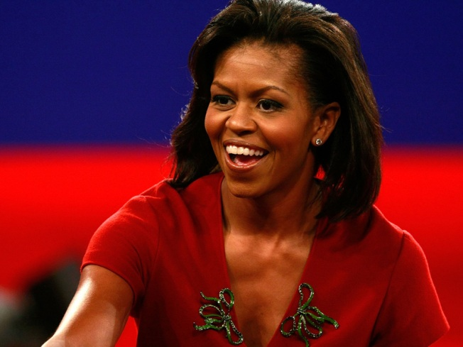 Michelle Makes First Appearance as First Lady