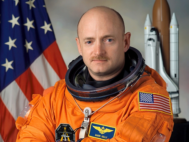Giffords' Astronaut Husband Headed for Space