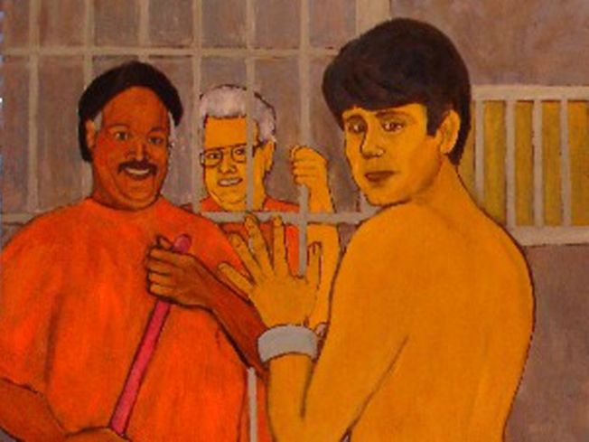 Controversial Painting Exposes Blago