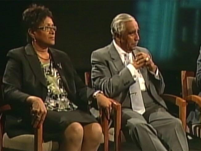 Rangel Plays Up Links to Obama in Debate