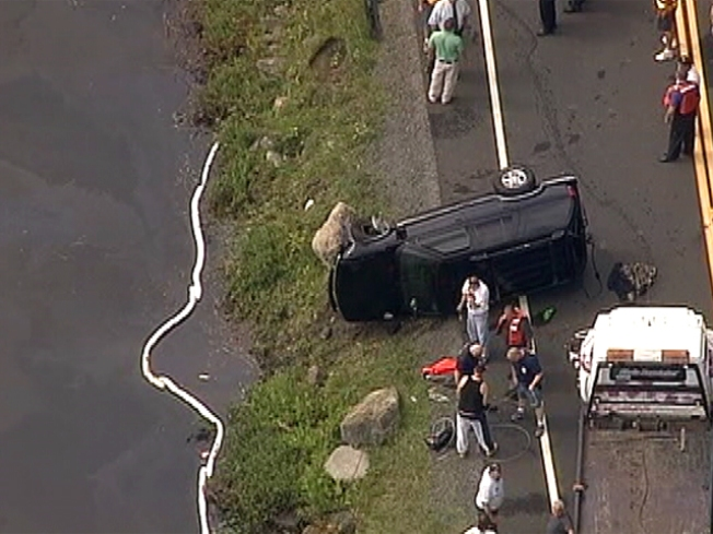 Two Die as SUV Rolls into Orange County Lake