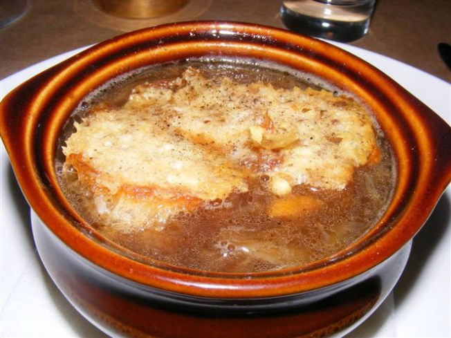 The Dish: Onion & Bone Marrow Soup @ the Breslin