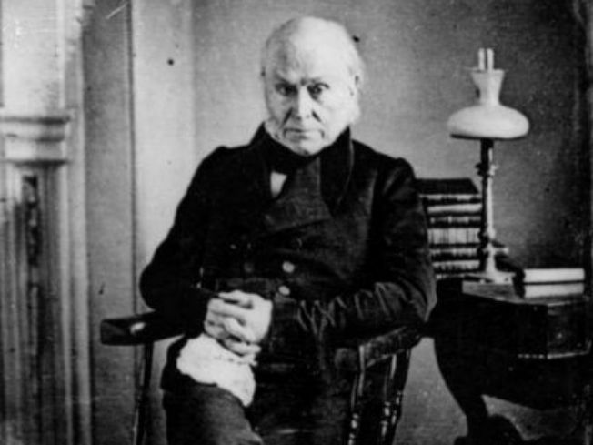 John Quincy Adams Tweets from the Grave