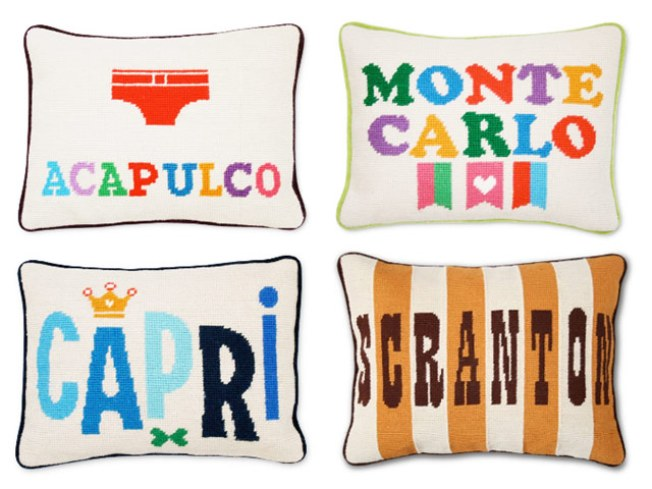 Jonathan Adler's Getaway-in-a-Pillow