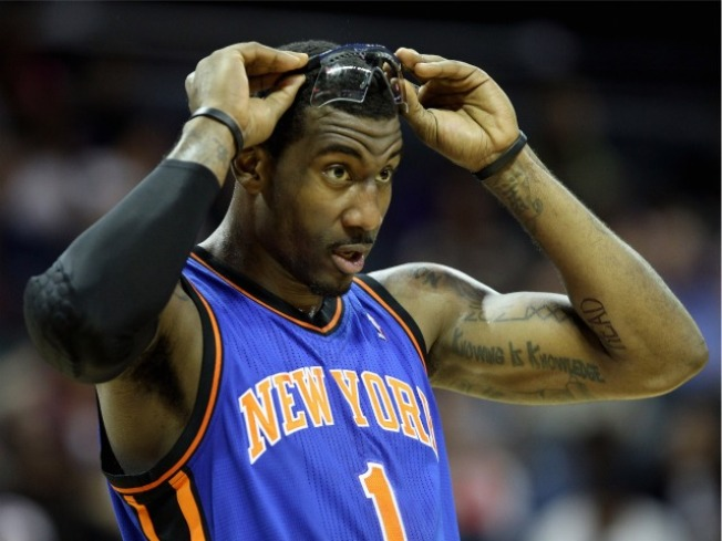 Let's All Be Thankful for Amar'e Stoudemire