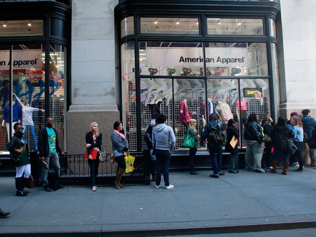American Apparel in Hot Water in Harlem