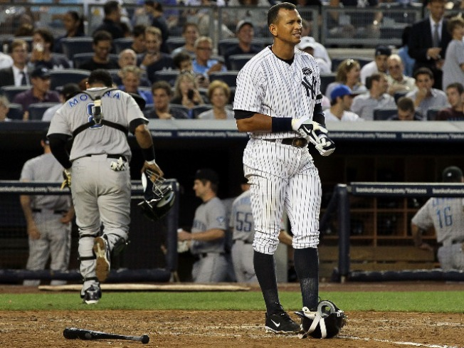 A-Rod Takes the Blame as Yankees Fall Into Tie For First
