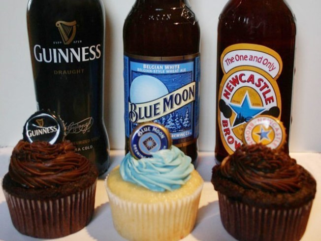 And Now This: Beer Cupcakes.