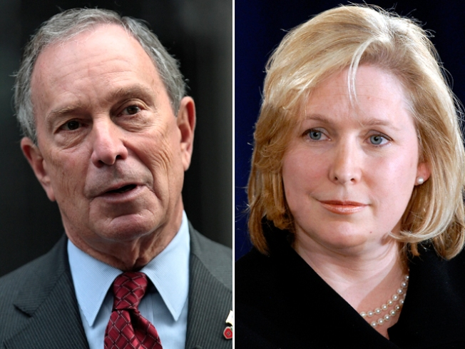 Bloomberg Takes Opening Shot at Gillibrand