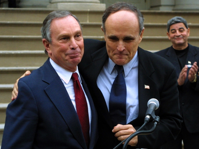 Bloomberg, Giuliani Disagree on Trials