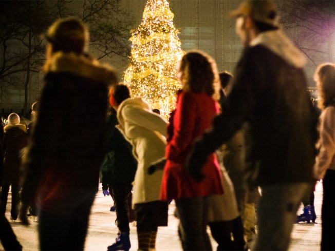 12/4: Bryant Park Tree Lighting/Skating Show