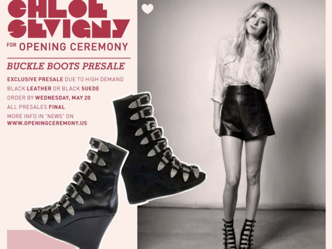 Exclusive Presale: Chloe Sevigny for Opening Ceremony