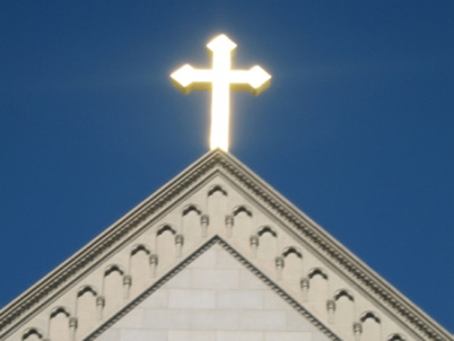 Man Saved in Church -- This Time by Mere Mortals