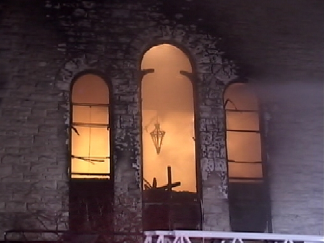 Five Alarm Blaze Rips Through Historic Church