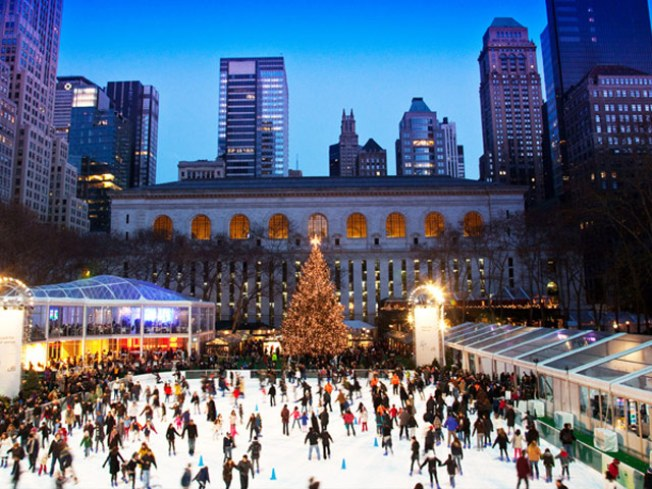 12/2: Bryant Park Tree Lighting, Pies 'N Thighs & Other Columbus Circle Market Eats…
