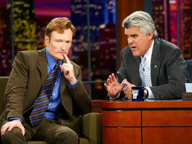 Conan, Leno Spoof Late-Night Rumors