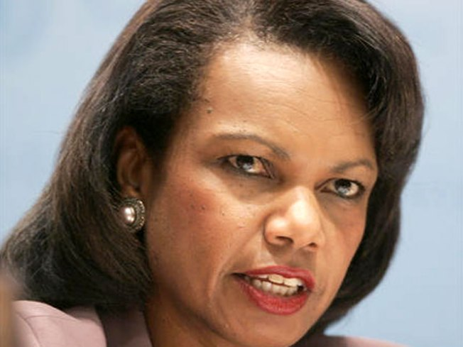 "Rice: ""Well Past Time"" for Zimbabwe Prez to Leave"