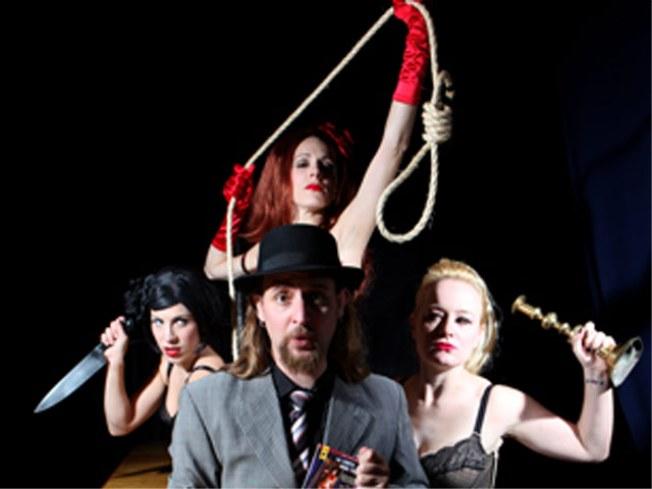 """Lurid Pulp!"": An Interactive Burlesque Murder Mystery"