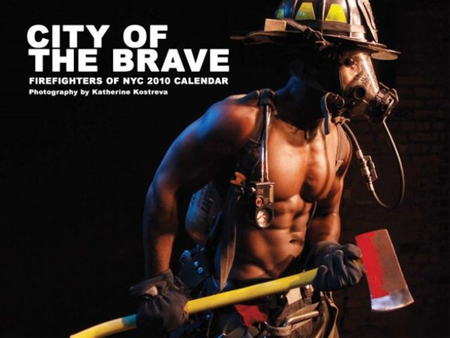 NY's Bravest Sign Their 2010 Calendar