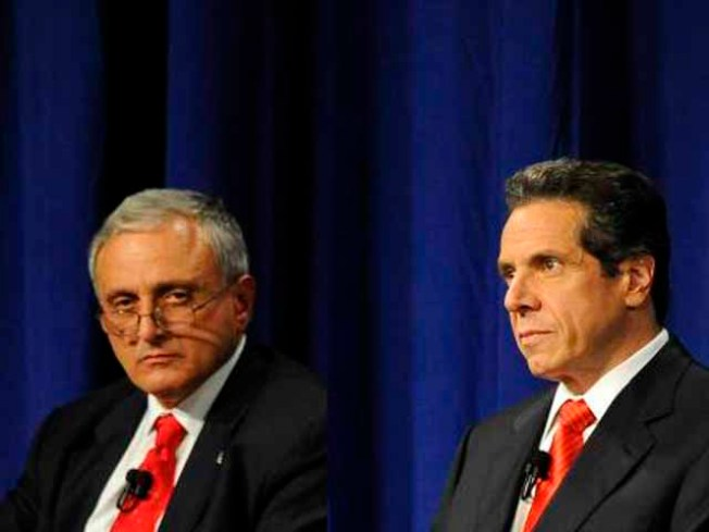 Cuomo Outspent Paladino 3-to-1 in Governor's Race
