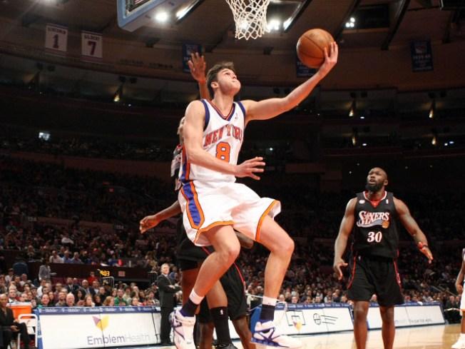 Knicks' Marketing Season Gets Underway