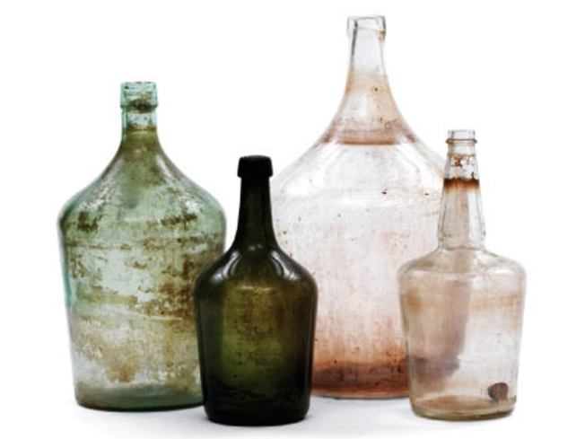 Antique Wine Demijohns