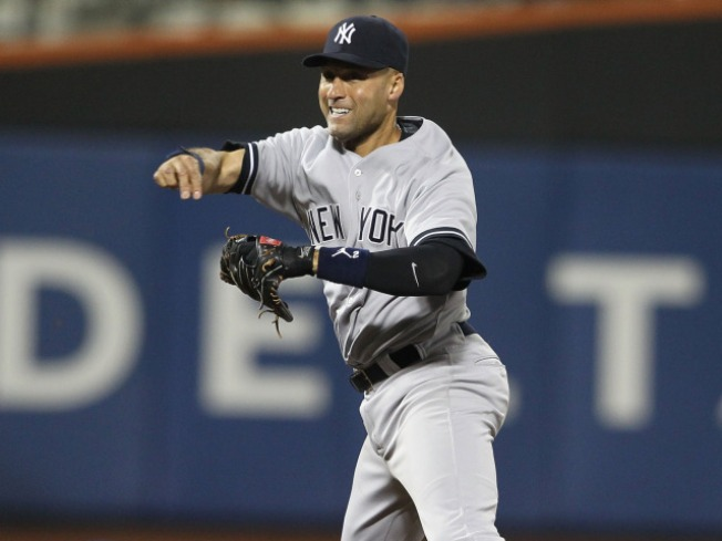 Jeter Scratched From Lineup Due to Heel Injury