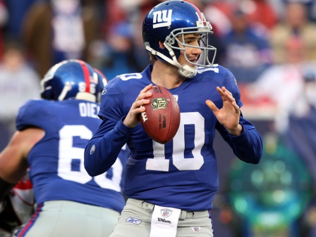 Thanksgiving Hopes Rest on Eli Manning