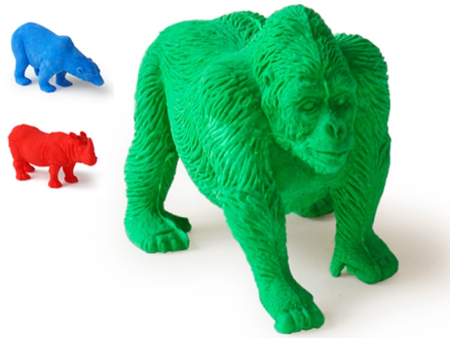 Endangered-Species Erasers