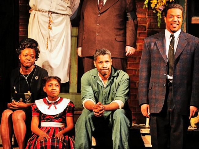 """Fences"" Stars Look to Family to Find Characters"