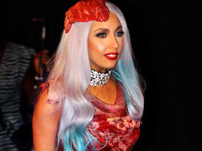 Gaga's Meat Dress Not Destined for Grill