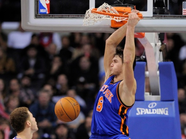 The Knicks Wish They All Could Be California Games