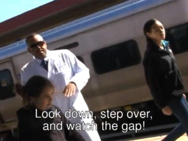 "LIRR Goes Pop with ""Gap Rap"""