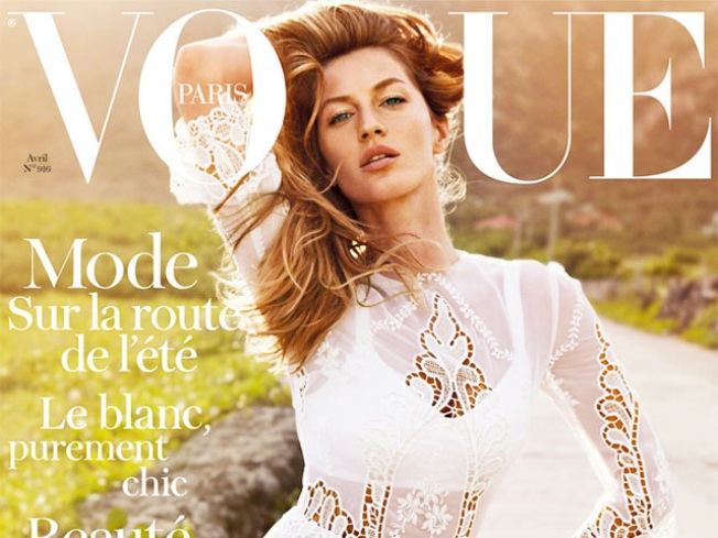 Gisele Covers New Editor in Chief Emmanuelle Alt's First French Vogue