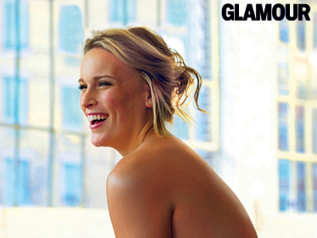 """""""Glamour"""" Plus-Sized Model Bares All for Shoot"""