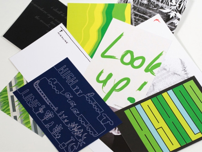 auto's High Line Postcard Series