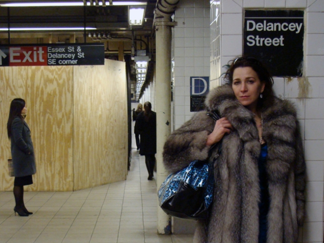 Subway Street Style: Honi Harlow At Essex and Delancey
