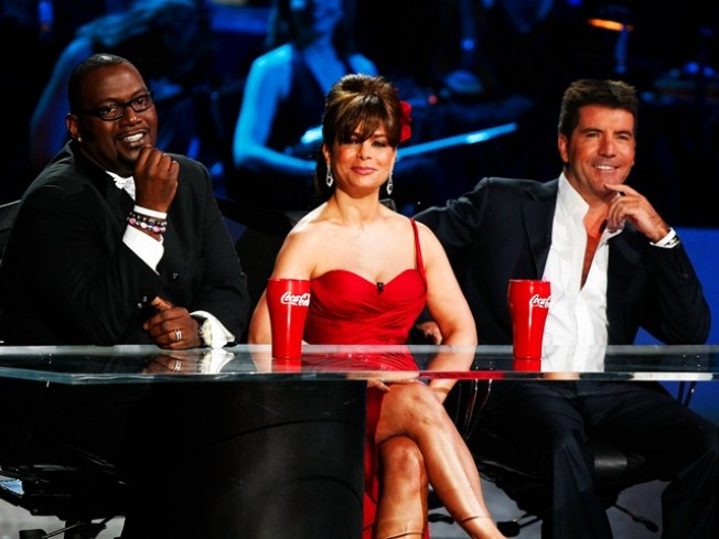 "Paula's Back with Simon For ""The X Factor"""