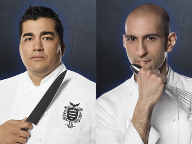 "New York Vs. Philly in ""Iron Chef"" Finale"