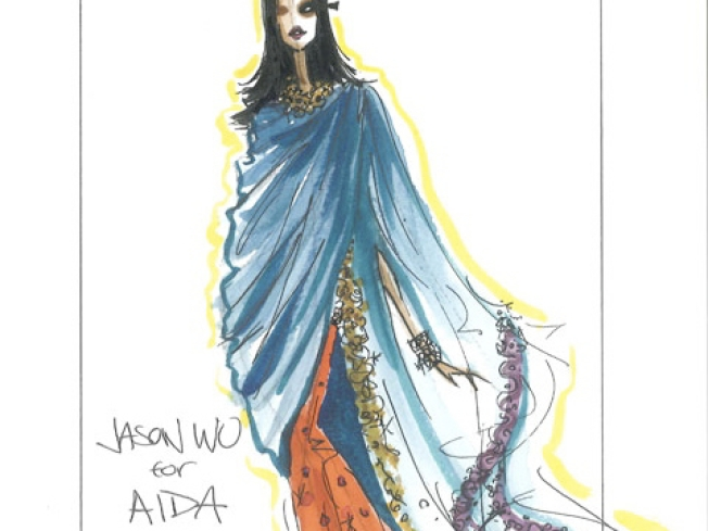 Top Designers Create Costume Sketches for the NYC Opera