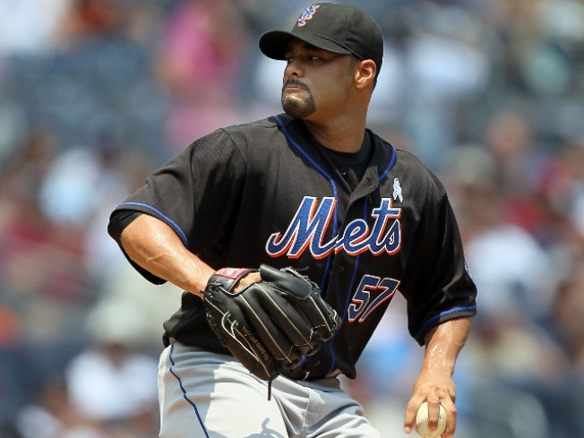 There's a Timetable for Johan Santana's Return to the Mound