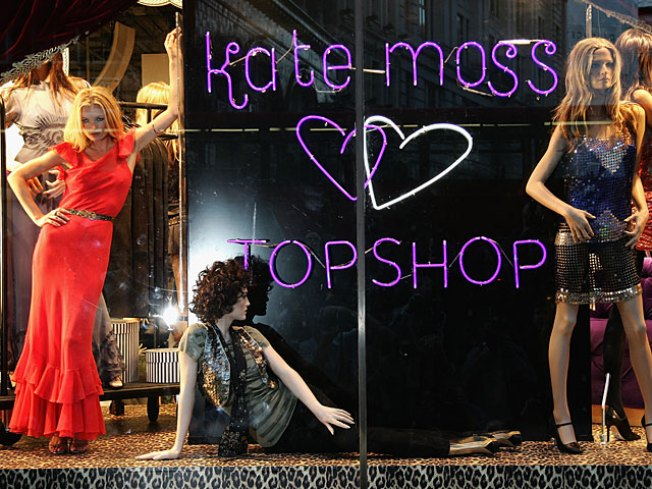 Kate Moss Will Cut the Topshop Ribbon on Thursday