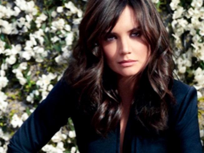 Katie Holmes Fronts Ann Taylor for Spring