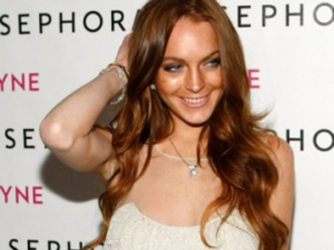 Lindsay Lohan 'Excited To Be Back On Set' For 'Machete'