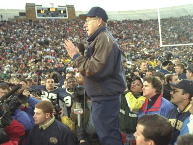 Five Reasons Why Lou Holtz Would Make a Great Congressman