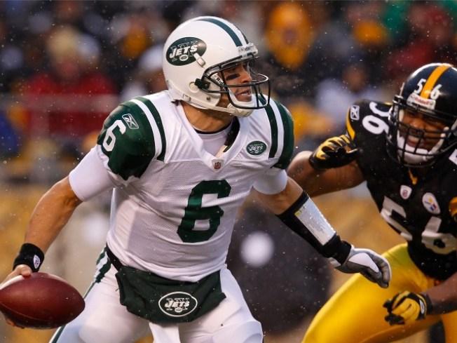 Jets Coach Says Sanchez Could Be a Game-Time Decision