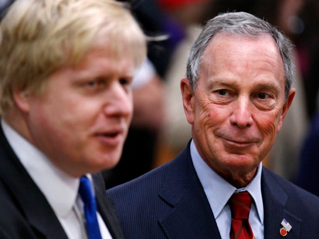 Bloomberg in London to Observe Transit Security