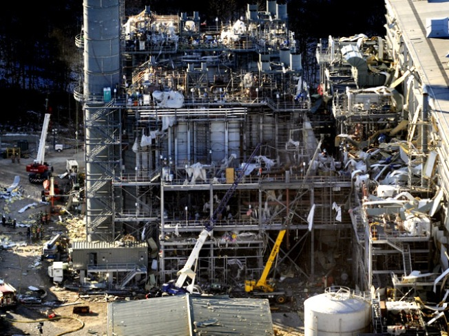 Gov. Rell Seeks to Ban 'Gas Blows' Following  CT Plant Explosion